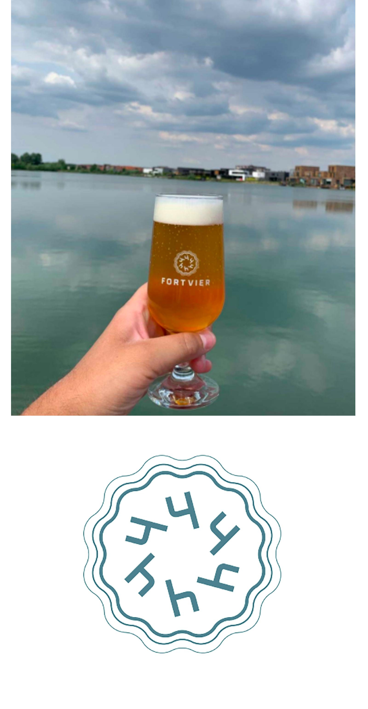 Brouwerij CC FortVier Schuytgraaf Arnhem Speciaalbier Hoppy Blond